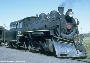 #29 in service on Keweenaw Central between 1967 and 1972.. Kevin Musser collection.