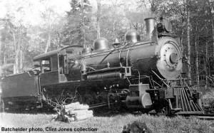 Copper Range #29 in service, c.1910. Batchelder photo, Clint Jones collection.