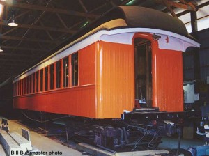 #60 under restoration, November 7, 1999. Bill Buhrmaster photo