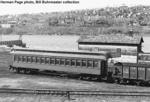 #60 at Houghton, Michigan, c.1960. Herman Page photo, Bill Buhrmaster collection
