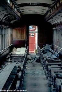 #60 interior before restoration, June 1985.