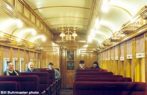#60 interior after restoration, March 2003. Judy Gasser photo.