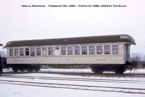 #60 stored at Wells, MI, Feb. 20, 1980.