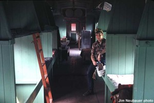 #1094's bunkroom interior, May 1969. Jim Neubauer photo