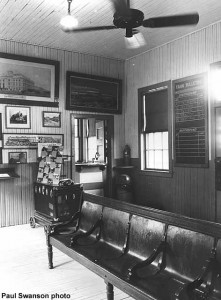 depot waiting room