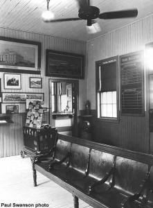 depot waiting room