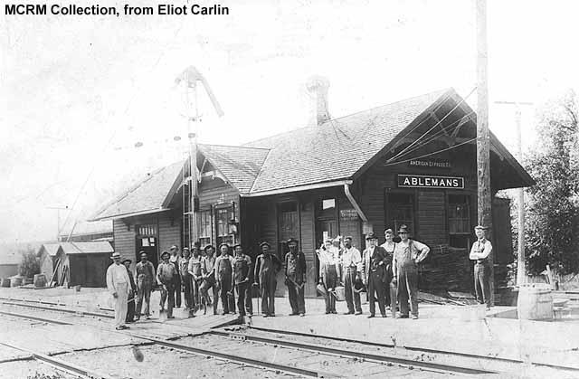 Ableman depot World War I era