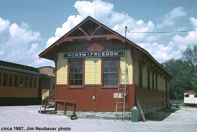 North Freedom depot
