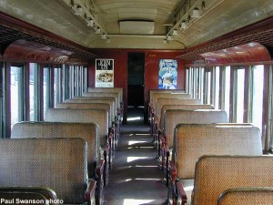 #425's interior, April 2000.