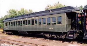 #563 at North Freedom, c.1995. MCRM collection