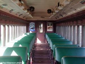 #563's interior, April 2000.