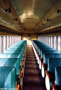#595's interior, c.1995. MCRM collection