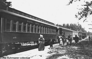 Sister car #215 in service, c.1890s. Ray Buhrmaster collection