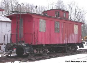 #568 at North Freedom, Dec. 6, 2003. Paul Swanson photo