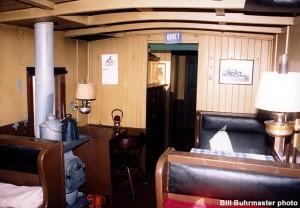 #570 interior, February 11, 1989. Bill Buhrmaster photo
