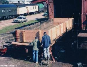 #996 under restoration, 1988.