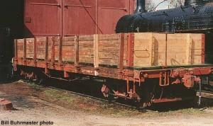 #996 under restoration, 1988. Bill Buhrmaster photo