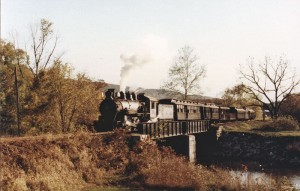 Train at Shade Creek on East Broad Top