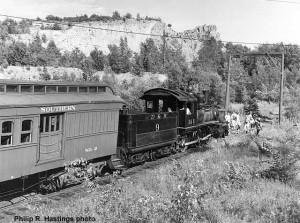 #2 in service at Quartzite Lake, c.1964. Philip R. Hastings photo