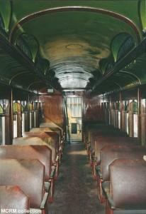 #3261's interior, 1993. MCRM collection