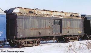 #90 in service, February 17, 2001. Paul Swanson photo