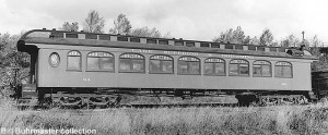 #64 at Marquette, MI, October 5, 1957. Bill Buhrmaster collection.