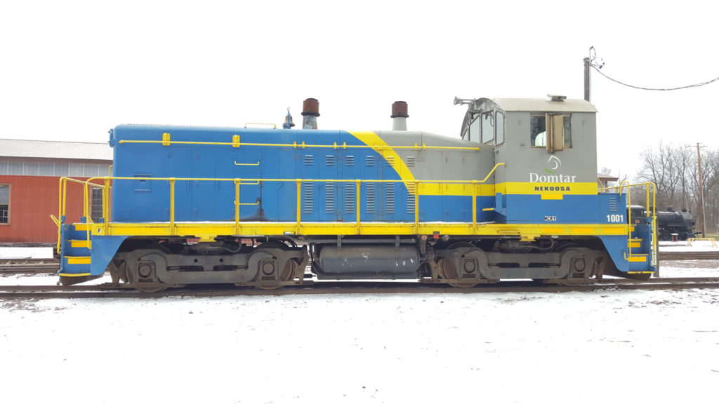 Domtar 1001 at Mid-Continent