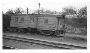 MILW #01855 in service in Elgin, IL. April 1953. Kelly Bauman collection.