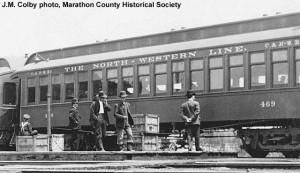 #63 as C&NW #469, Eland Jct., WI, 1909.