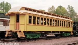 #63 after restoration, October 1, 2002.