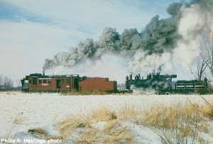 OSL #762 in action at Snow Train 1985. Philip R. Hastings photo, MCRM collection.