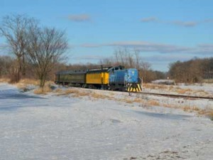 Follow the former branchline of the Chicago & North Western Railway through rural Sauk County.