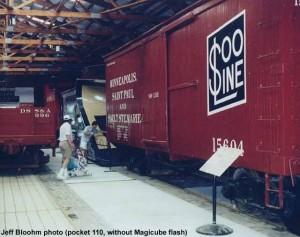 #15604 on display, August 2000.  Jeff Bloohm photo
