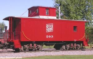 #203 on display, August 21, 2004.
