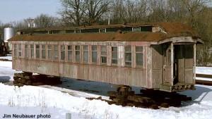 #920 at North Freedom, Winter/Spring 1975.  Jim Neubauer photo