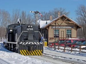 During Snow Train™ 2008. Tim Martin photo.