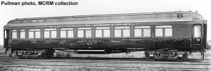 WC #64 builders photo, sister car to #63. Pullman photo., MCRM collection