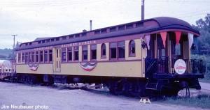 #104 in service at Hillsboro, WI, May, 1962.  Jim Neubauer photo