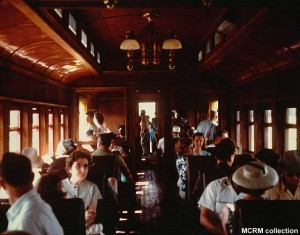 #104's interior at Mid-Continent, no date. MCRM collection