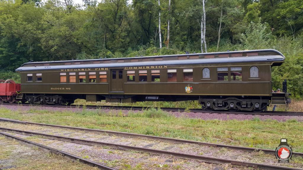 Badger #2 in MCRM railyard