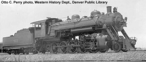 AT&N #401 at Mobile, AL, 7-30-32. Otto C. Perry photo, Western History Dept., Denver Public Library.