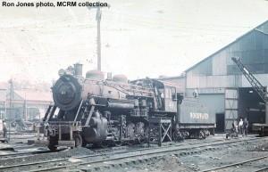 Woodward Iron #41 at Woodward, AL, April 3, 1965. Kodachrome film. Ron Jones photo, MCRM collection.