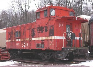 #529 at North Freedom, Dec. 12, 2003. Paul Swanson photo.